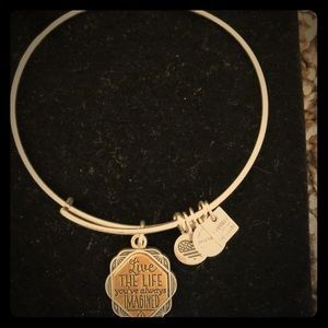 Alex and Ani Live Life Bracelet